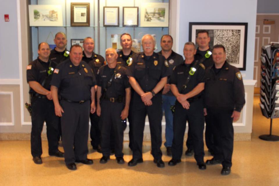 Fire Marshal Sweeney Retires