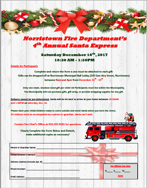 4th Annual Santa Express