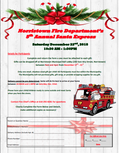 5th Annual Santa Express