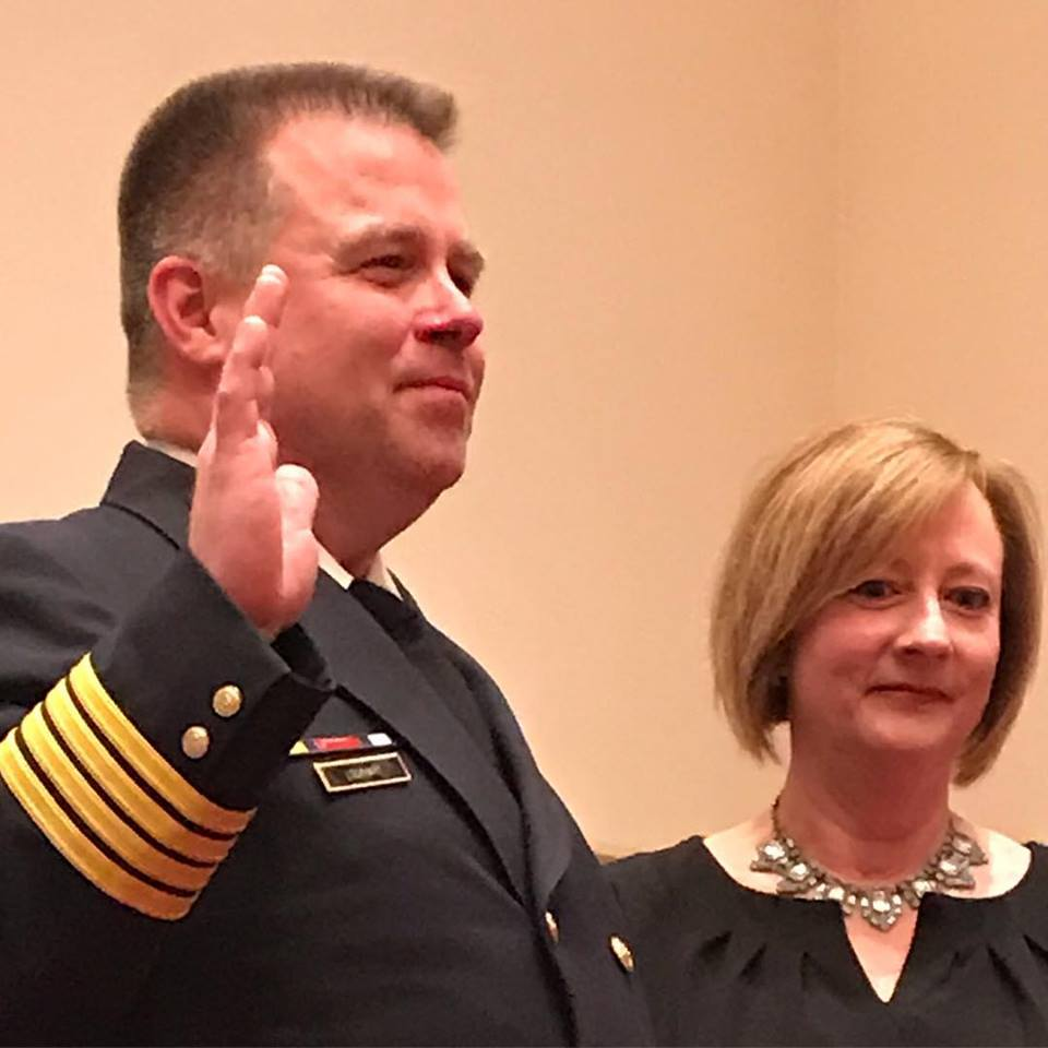 Congratulations Deputy Chief Lockhart!!!